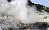Il vulcano attivo della Solfatara (Pozzuoli)