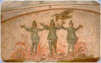 Le pitture delle catacombe di Napoli